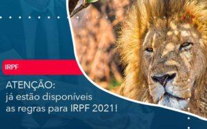 Ja Estao Disponiveis As Regras Para Irpf 2021 - Contabilidade na Lapa - SP | RM Assessoria Contábil - Blog