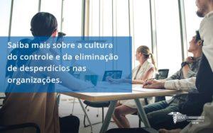 Saiba Mais Sobre A Cultura Do Controle E Da Eliminação De Desperdícios Nas Organizações. Rm Assessoria (1) - Contabilidade na Lapa - SP | RM Assessoria